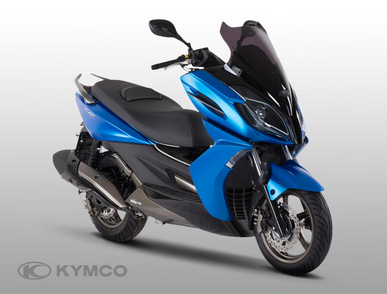 Kymco K-XT 125 modrý